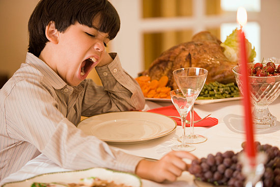 Food Coma and stop gazing after eating full